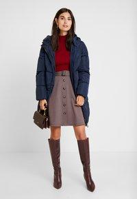 Anna Field - Mini skirt - brown - 1