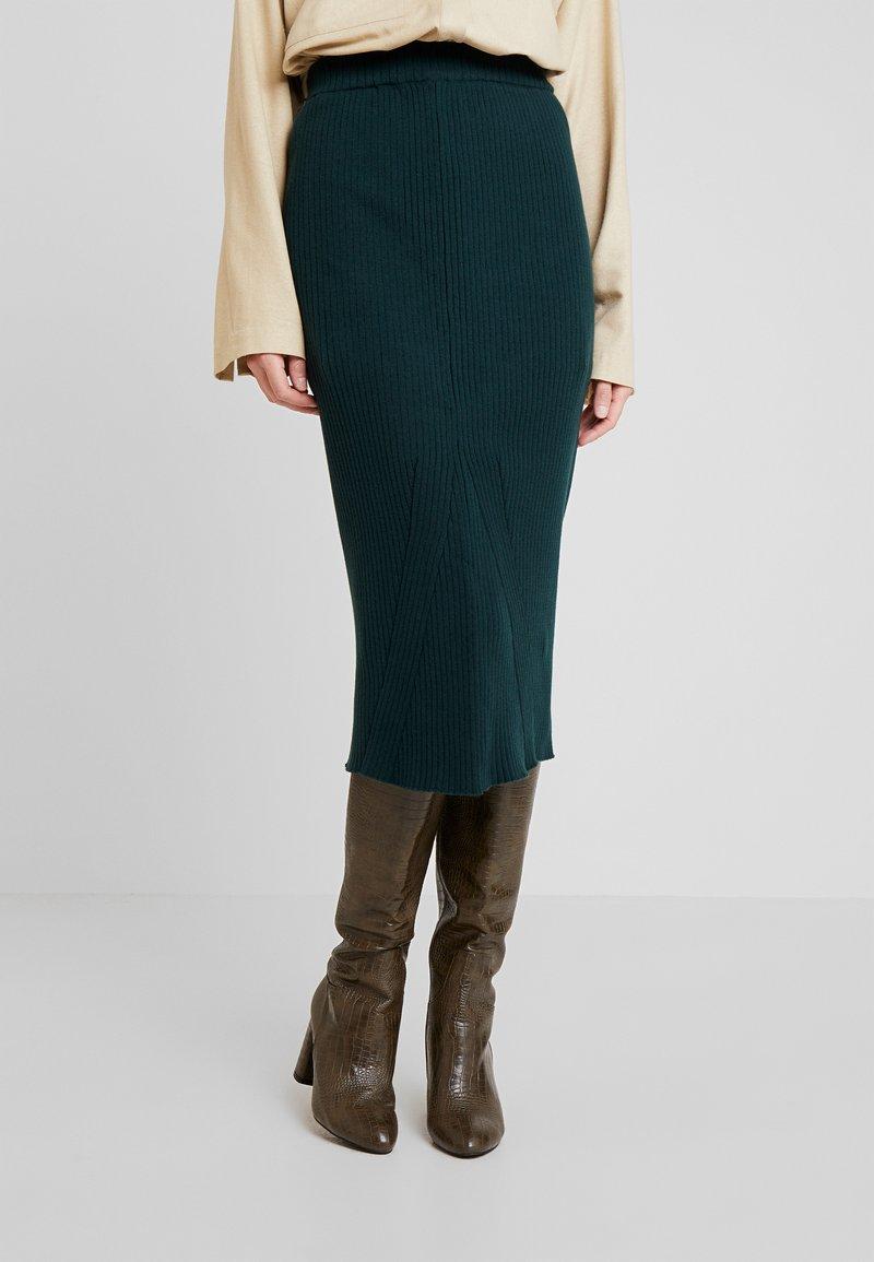 Anna Field - Pencil skirt - scarab