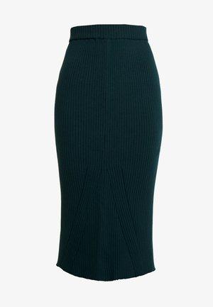 Pencil skirt - scarab