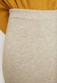 Anna Field - Pouzdrová sukně - beige - 5