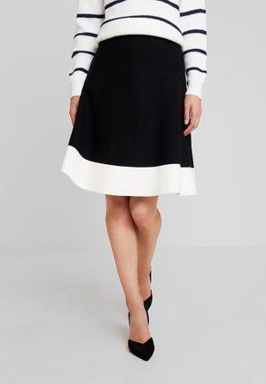 A-line skjørt - white/black