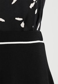 Anna Field - BASIC - A-line skjørt - black - 4
