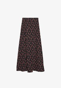 Anna Field - BASIC - Maxi skirt - Maxirock - black/rose - 1