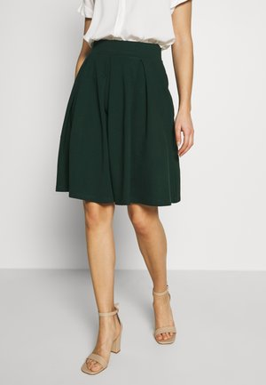 BASIC - A-line skirt - scarab