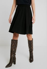 Anna Field - BASIC - A-line skirt - black - 0