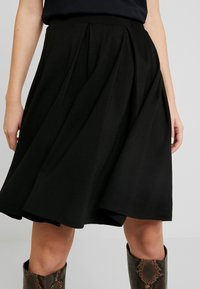 Anna Field - BASIC - A-line skirt - black - 4