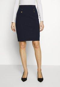 Anna Field - Pouzdrová sukně - maritime blue - 0