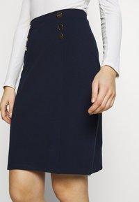 Anna Field - Pouzdrová sukně - maritime blue - 4