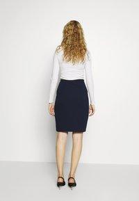 Anna Field - Pouzdrová sukně - maritime blue - 2