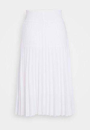 A-line skjørt - white