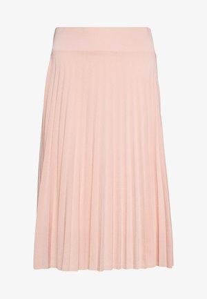 BASIC - Plissé A-line skirt - A-line skjørt - dusty pink