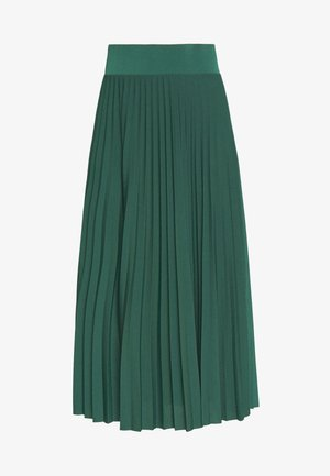 BASIC - Plissé A-line skirt - Gonna a campana - teal
