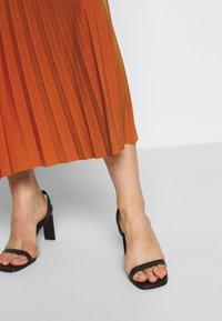Anna Field - BASIC - Plissé A-line skirt - A-Linien-Rock - potter's clay - 4