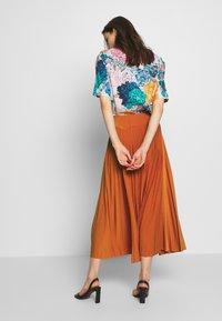 Anna Field - BASIC - Plissé A-line skirt - A-Linien-Rock - potter's clay - 2