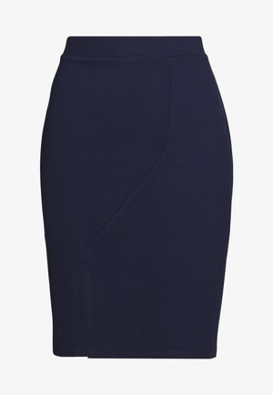 Pencil skirt - maritime blue