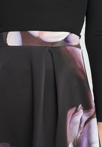 Anna Field - A-line skirt - dark floral - 4