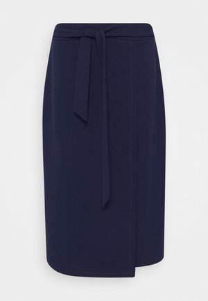 Pencil skirt - evening blue