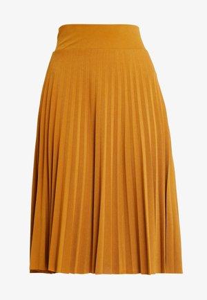 A-lijn rok - golden brown