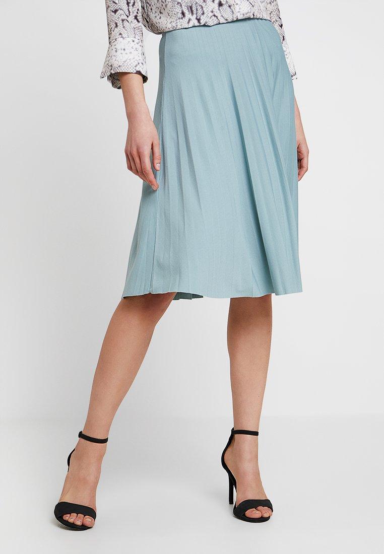 Anna Field - A-Linien-Rock - silver blue