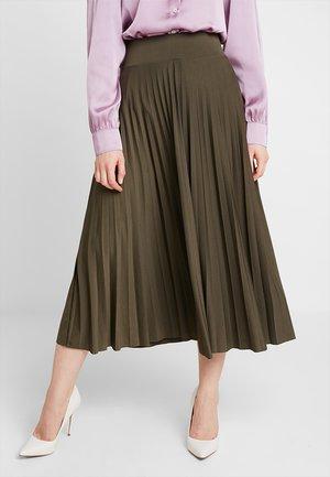 Áčková sukně -  olive night