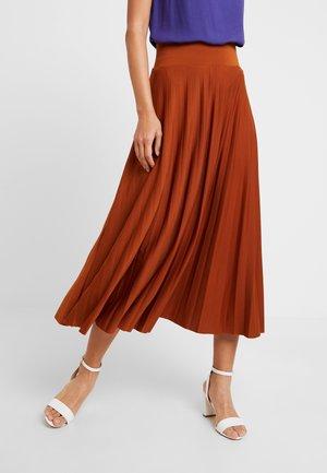 Áčková sukně - caramel cafe