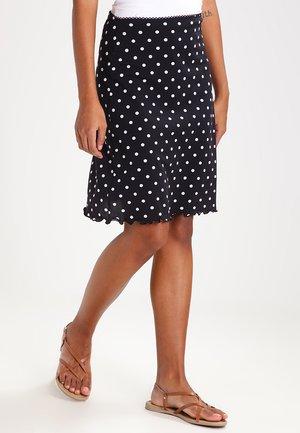 Spódnica trapezowa - black/white