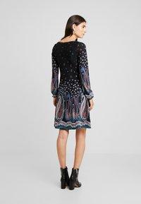 Anna Field - Stickad klänning - black - 3