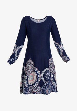 Robe pull - maritime blue/rose