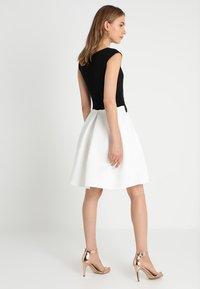 Anna Field - Žerzejové šaty - black/off-white - 2