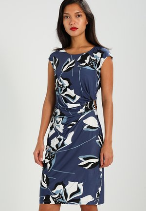 Shift dress - black/blue