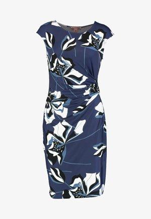 Robe fourreau - black/blue