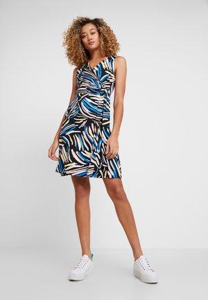 Denní šaty - black/white/blue
