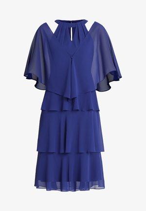 Cocktailjurk - royal blue