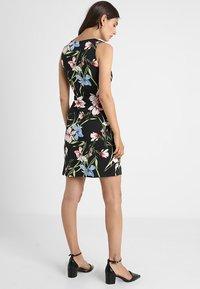 Anna Field - Shift dress - black/pink - 3