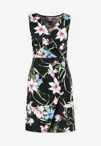 Anna Field - Shift dress - black/pink - 4