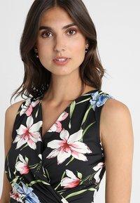 Anna Field - Shift dress - black/pink - 5