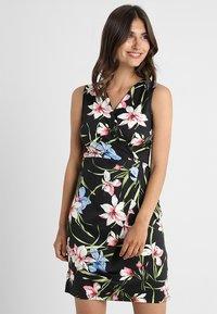 Anna Field - Shift dress - black/pink - 0