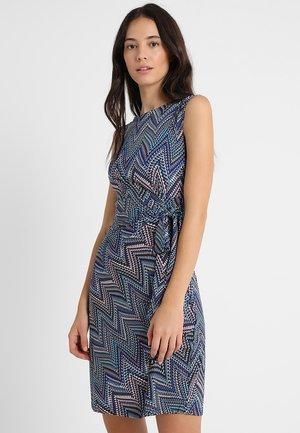 Denní šaty - Blue/off-white