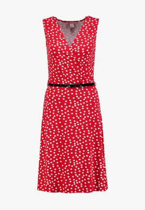 Day dress - white/red