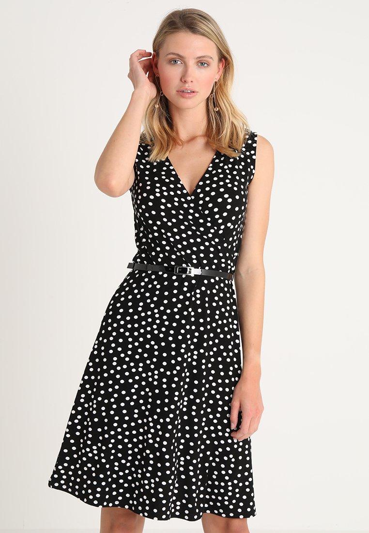 Anna Field - Jersey dress - black/off-white