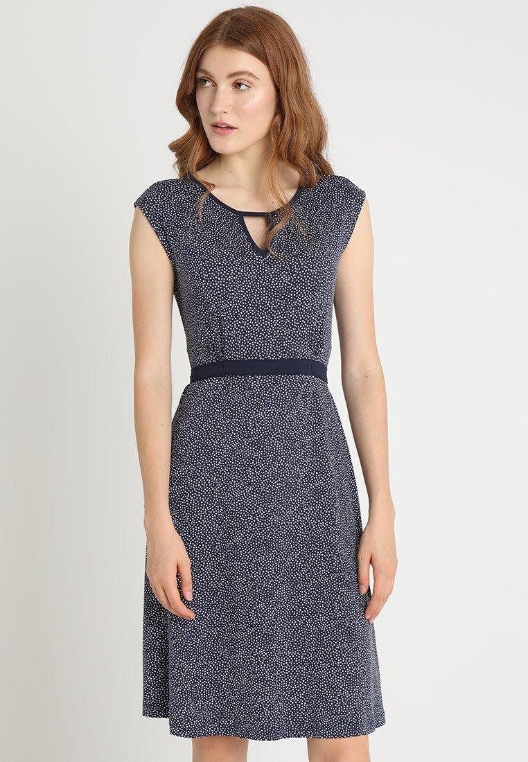 Anna Field - Jerseykleid - white/dark blue