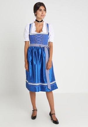 Dirndl - royal blue