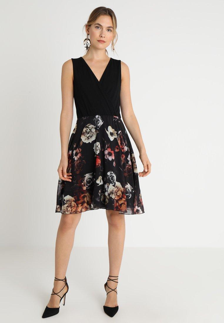 Anna Field Vestito elegante - nero black/red