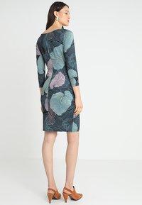 Anna Field - Vestido de tubo - black/light blue - 2