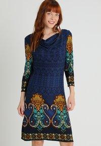 Anna Field - Pletené šaty - dark blue - 0