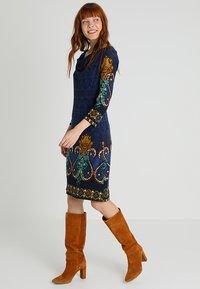 Anna Field - Pletené šaty - dark blue - 1