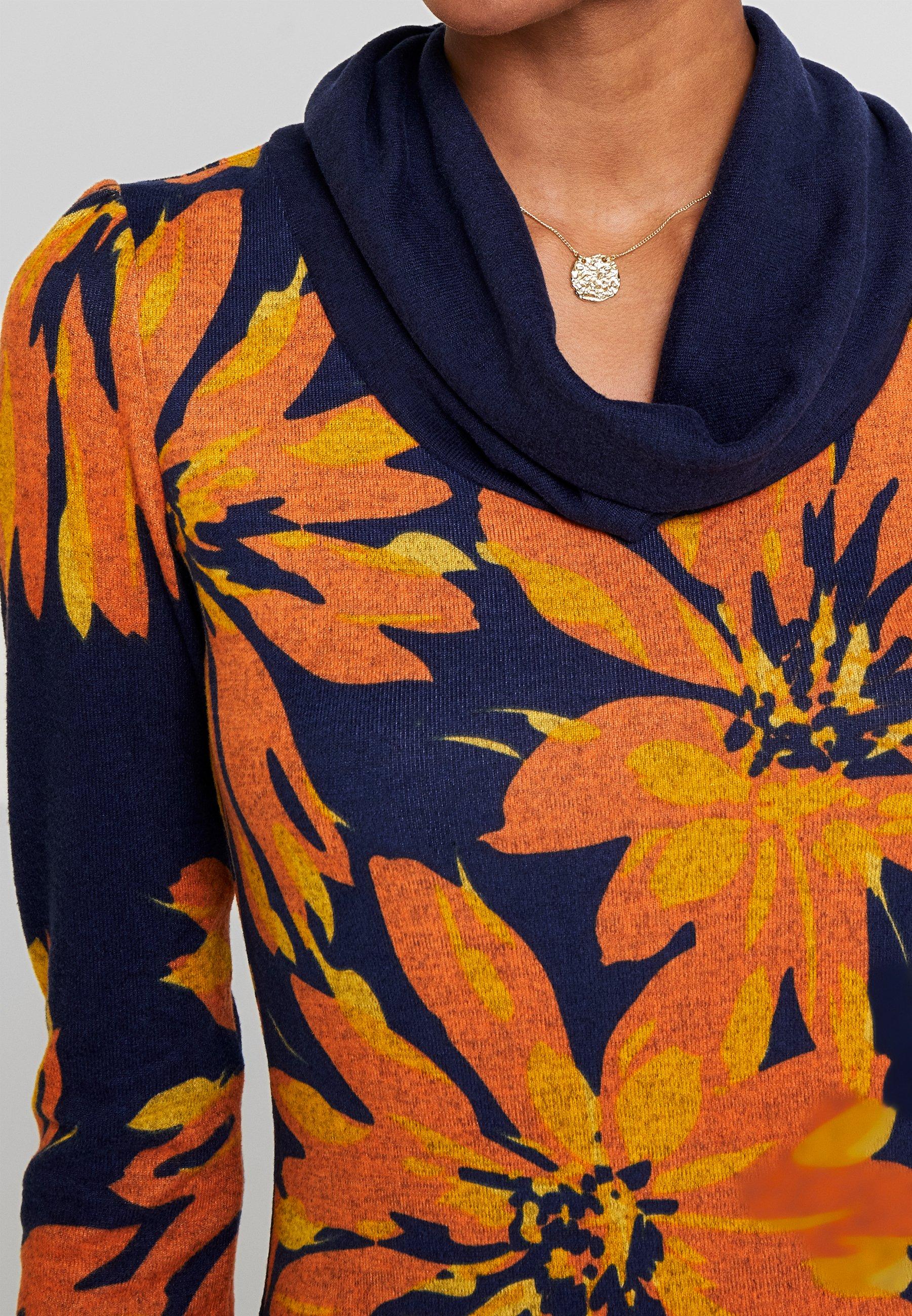 Anna Field Robe d'été - orange orange/blue