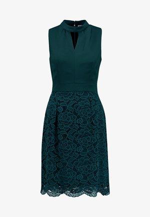 Koktejlové šaty/ šaty na párty - dark green