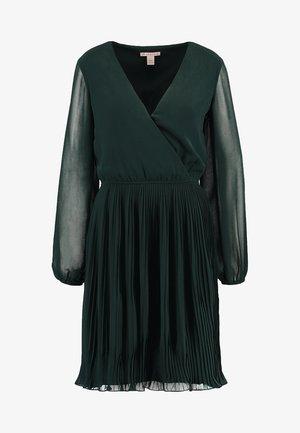 Denní šaty - dark green