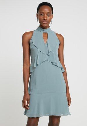 Cocktail dress / Party dress - blue grey